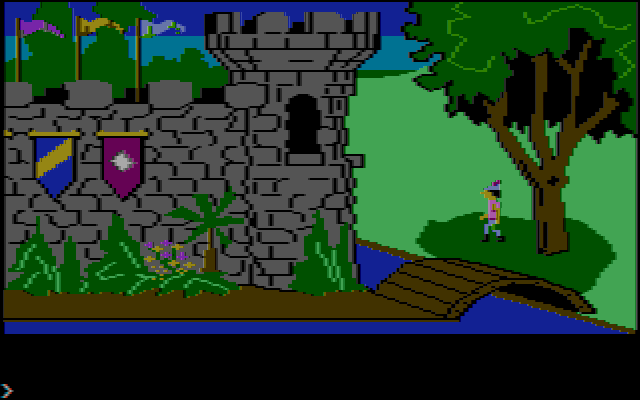 Kings Quest 1 CGA Composite