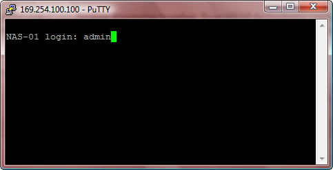 Putty Login