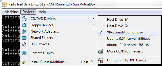 VirtualBox Shared Folders with Ubuntu Server Guest – The Developer's