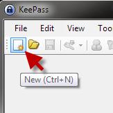 Press the new button