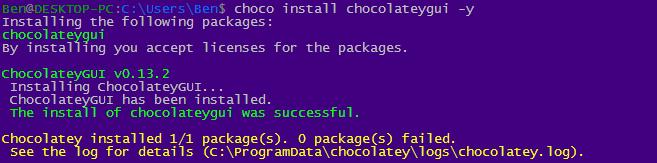 choco install example