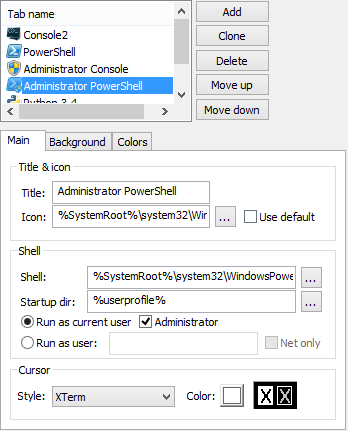 Create a PowerShell administrator profile